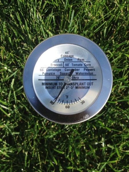 SaferBrand Soil Thermometer