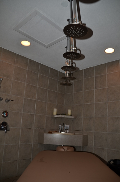 Grand Traverse Resort Rain Shower
