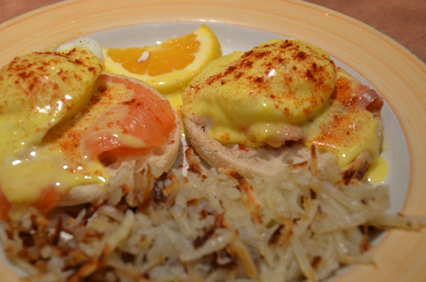 Grand Traverse Resort Salmon Benedict