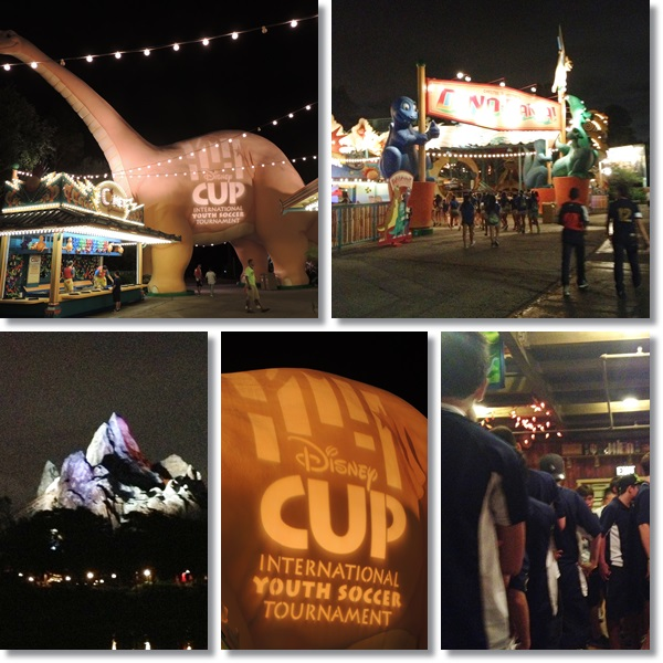 Disney Cup International Youth Soccer Opening Ceremonies