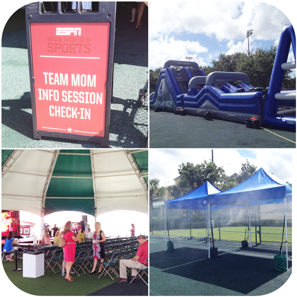 Disney Sports Festival Center Tent