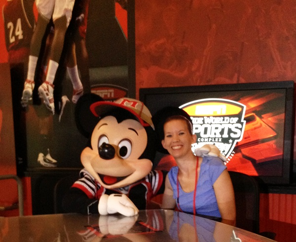 ESPN Wide World Of Sports Mickey