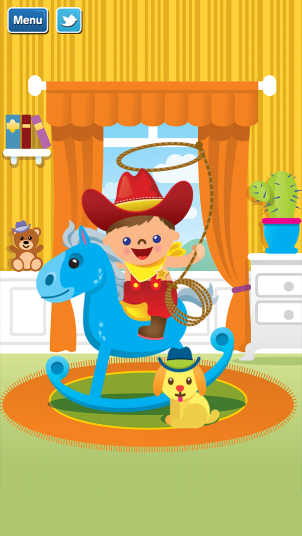 GazziliPuzzles Cowboy completed