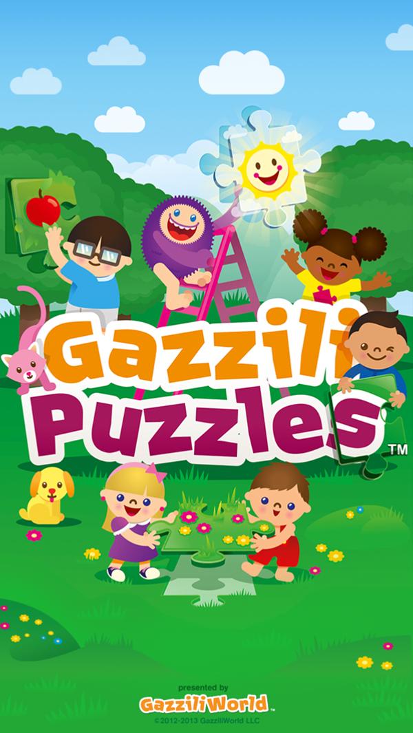 GazziliPuzzles Front Page