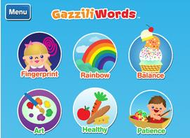 Fun Kids Learning App: GazziliWords