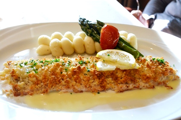 LEMON CRUSTED WHITEFISH LOCHENHEATH GOLF COURSE