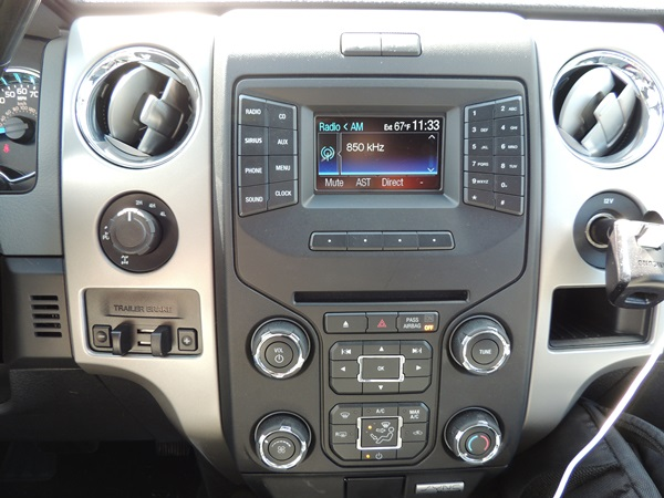 Ford F150 Center Display