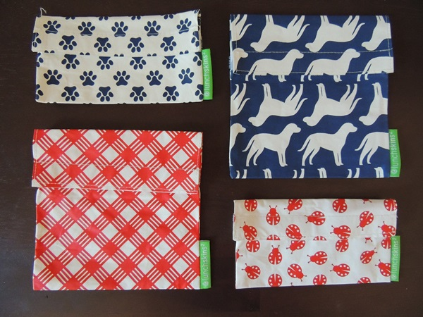 LunchSkins Reusable Sandwich Snack Bags