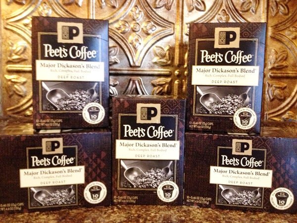 Peet's Coffee Single Cups Review & Giveaway