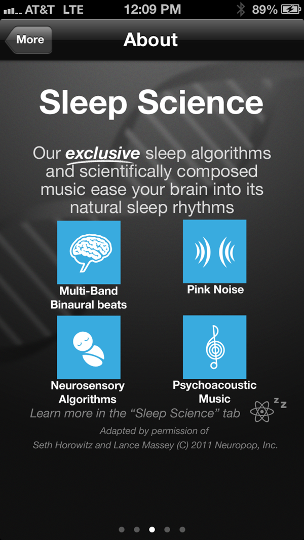 Sleep Genius About Screen