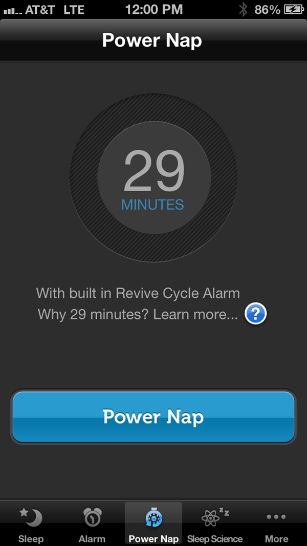 Sleep Genius Power Nap