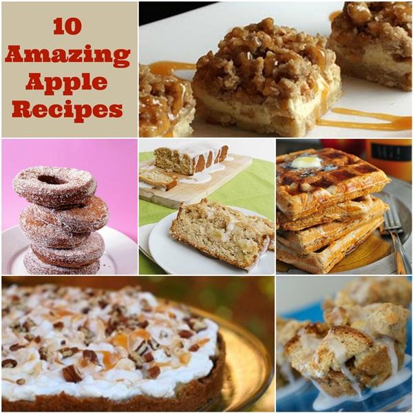 10 Amazing Apple Recipes