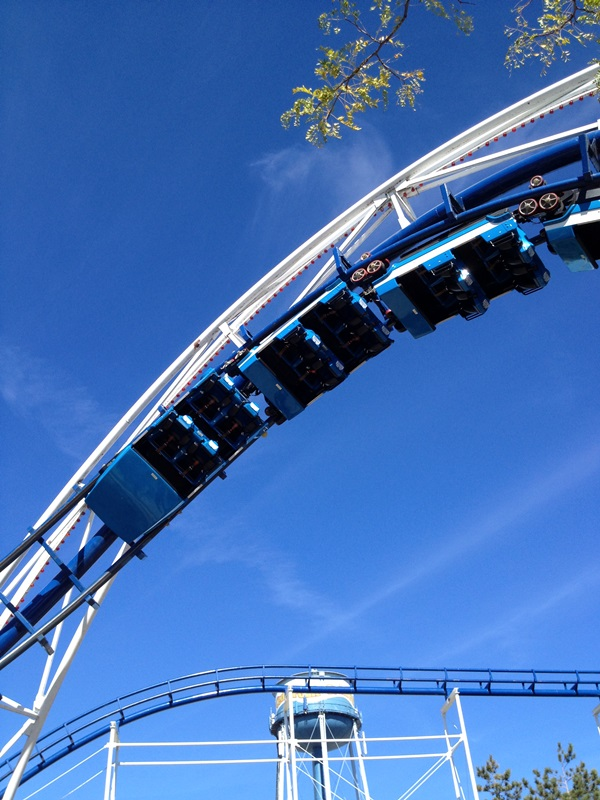 Cedar Point Corkscrew