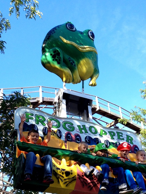 Cedar Point Frog Hopper