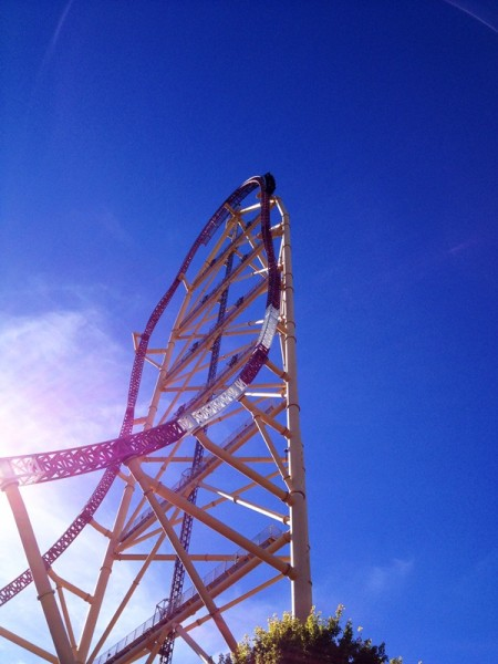 Cedar Point Top Thrill Dragster Ride