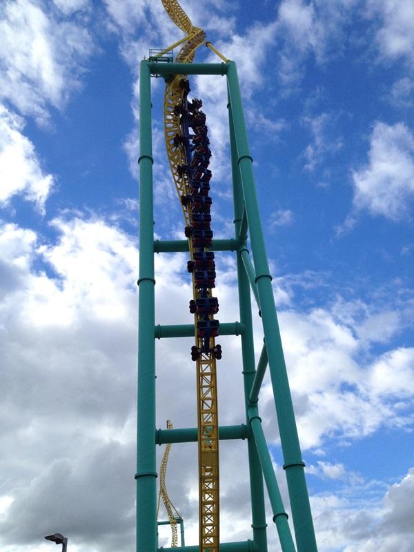 Cedar Point Wicked Twister