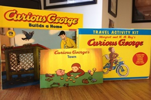 Curious George's Town App Review & Giveaway