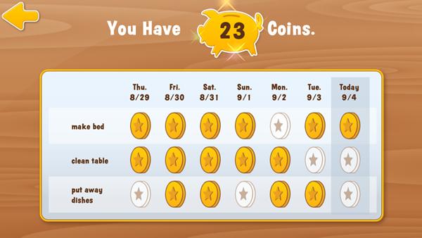 Curious George's Town - Parents Reward Chart