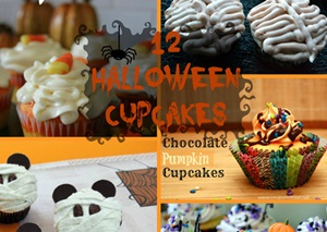 12 Cute & Creative Halloween Cupcake Recipes
