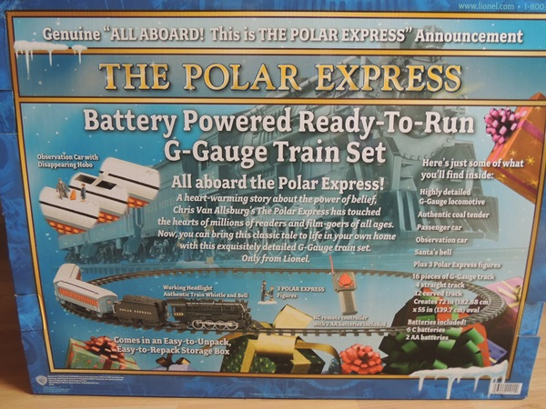 Lionel Train Polar Express Review