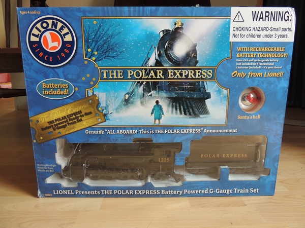 Lionel Train Polar Express