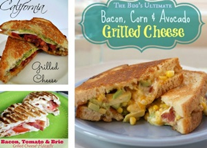 12 Grilled Cheese Sandwiches