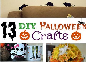 13 DIY Halloween Crafts Featured