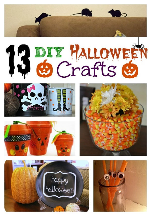 13 diy halloween crafts - Halloween Diy Crafts