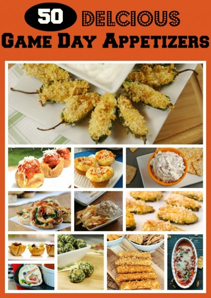 50 Delicious Game Day Appetizers