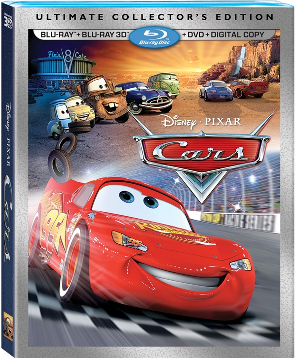 Cars 3 collector's edition animated, blu-ray | sanity.