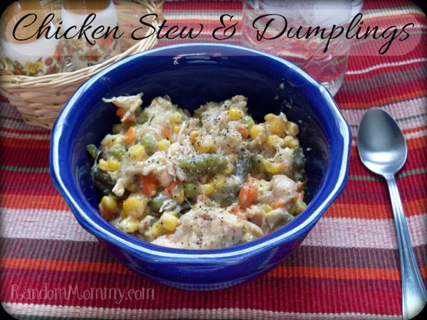 Chicken Stew & Dumplings