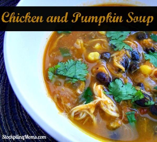 Chicken and Pumpkin Soup