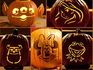 Cool Disney Pumpkin Carving Templates Featured