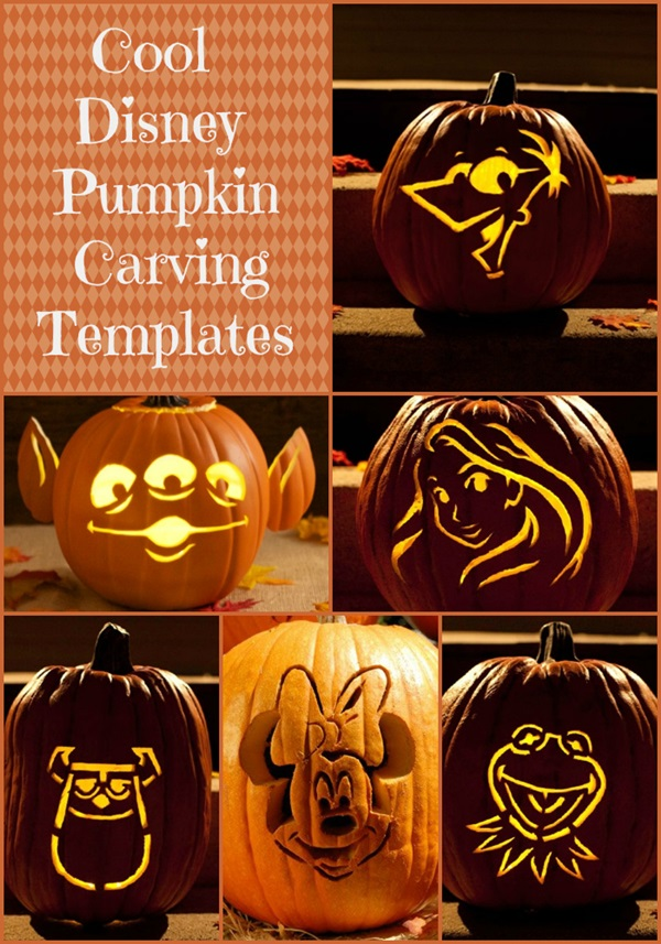 Cool disney pumpkin carving templates 2 wired 2 tired maxwellsz
