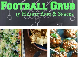 Football Grub - 15 Delicious Apps & Snacks Featured