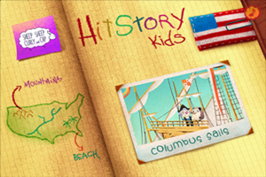 HitStory Kids - Columbus Sails educational toddler app Featured