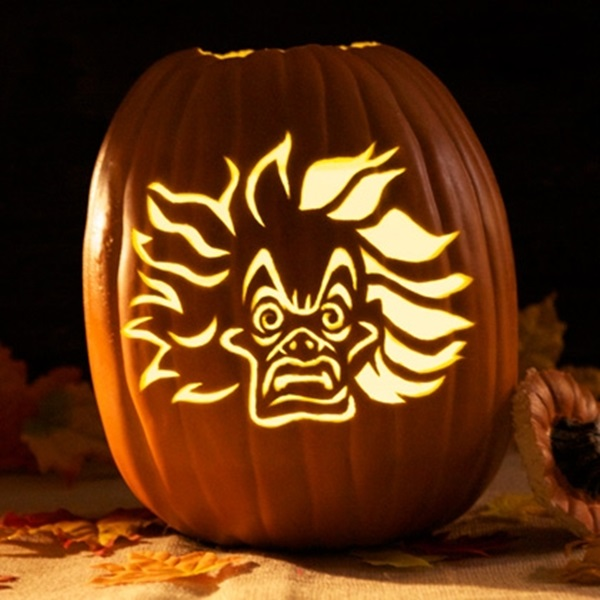 Pumpkin Carving Template Cruella De Vil
