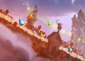 Rayman Legends 5 Player Wii U Video Game