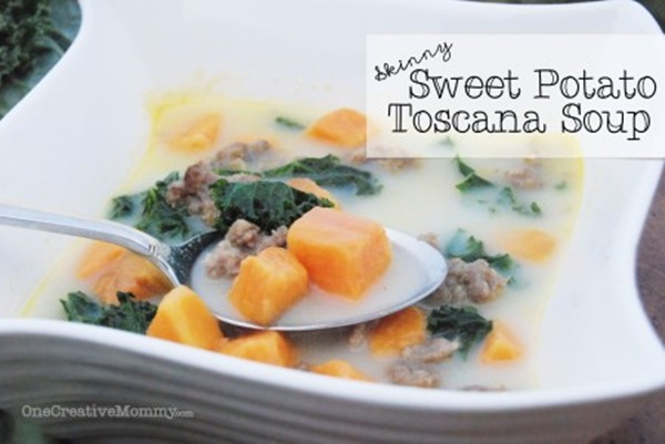 Skinny Sweet Potato Toscana