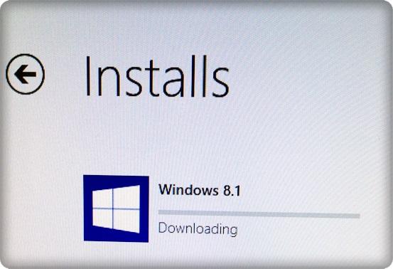 Windows 81 Downloading