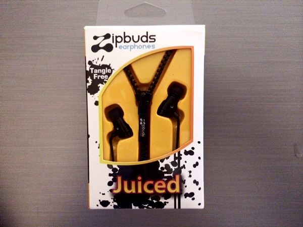 Zipbuds Juiced – Tangle Resistant Earbuds