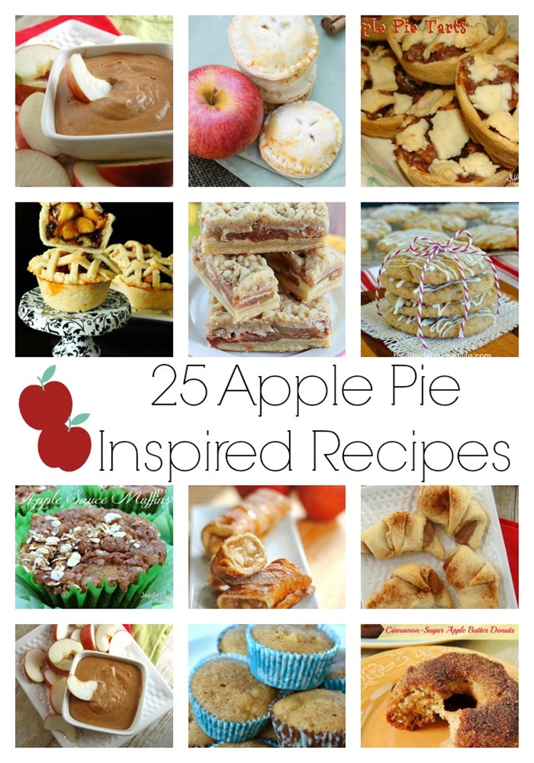 25 Apple Pie Inspired Recipes