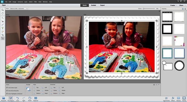 Adobe Photoshop Elements 12 Frames