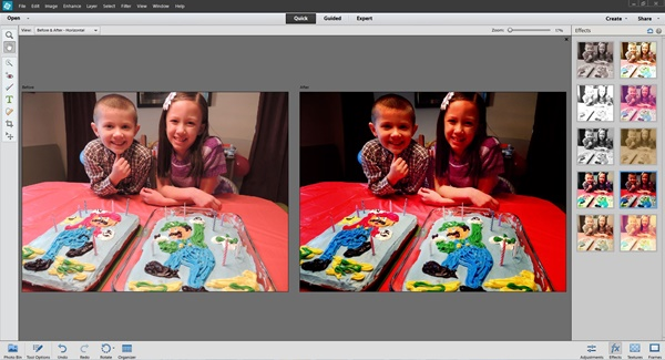 Adobe Photoshop Elements 12 Quick Effects