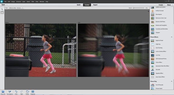 Adobe Photoshop Elements 12 Zoom Burst