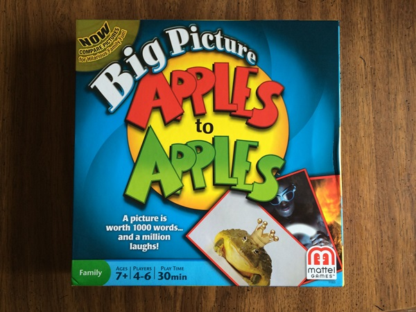 Apples to Apples Big Picture