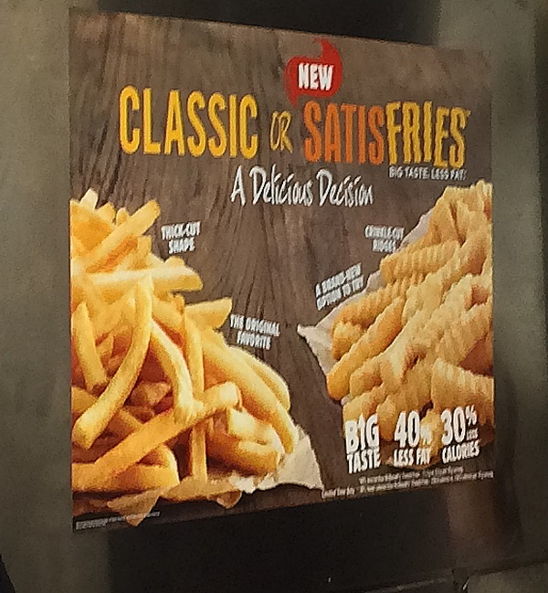 Burger King SatisFries A Delicious Decision