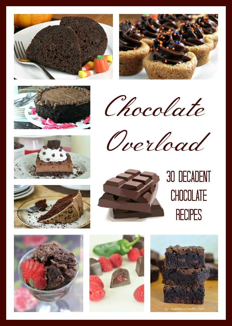 Yum! I can't wait to try these! 30 Decadent Chocolate Recipes