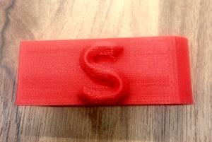 Microsoft 3D Printed Money Clip