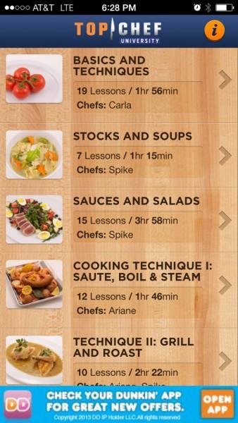 Top Chef App